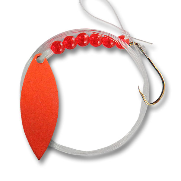 Live-Bait-Willow-Leaf-#3-Spinner-Orange
