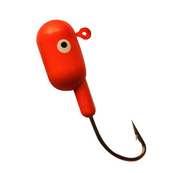 Round-Float-Jig-Jumbo-Red