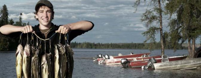 Let\'s go fishing together.